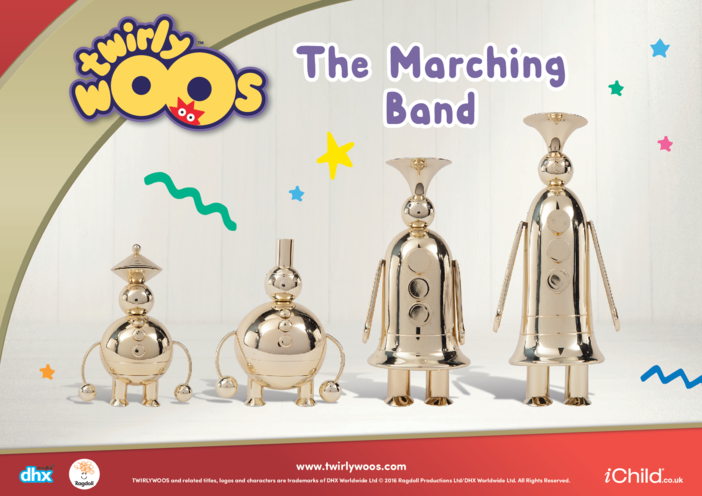 Thumbnail image for the The Marching Band activity.