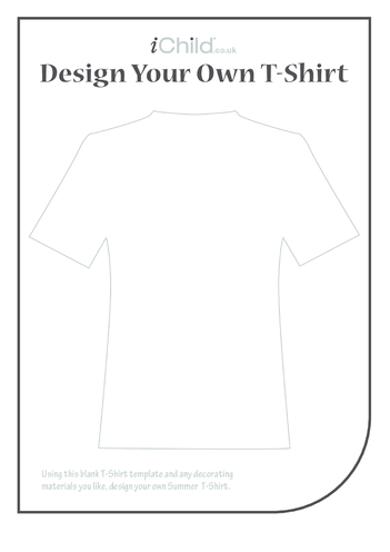 Thumbnail image for the Design a Summer T-Shirt activity.