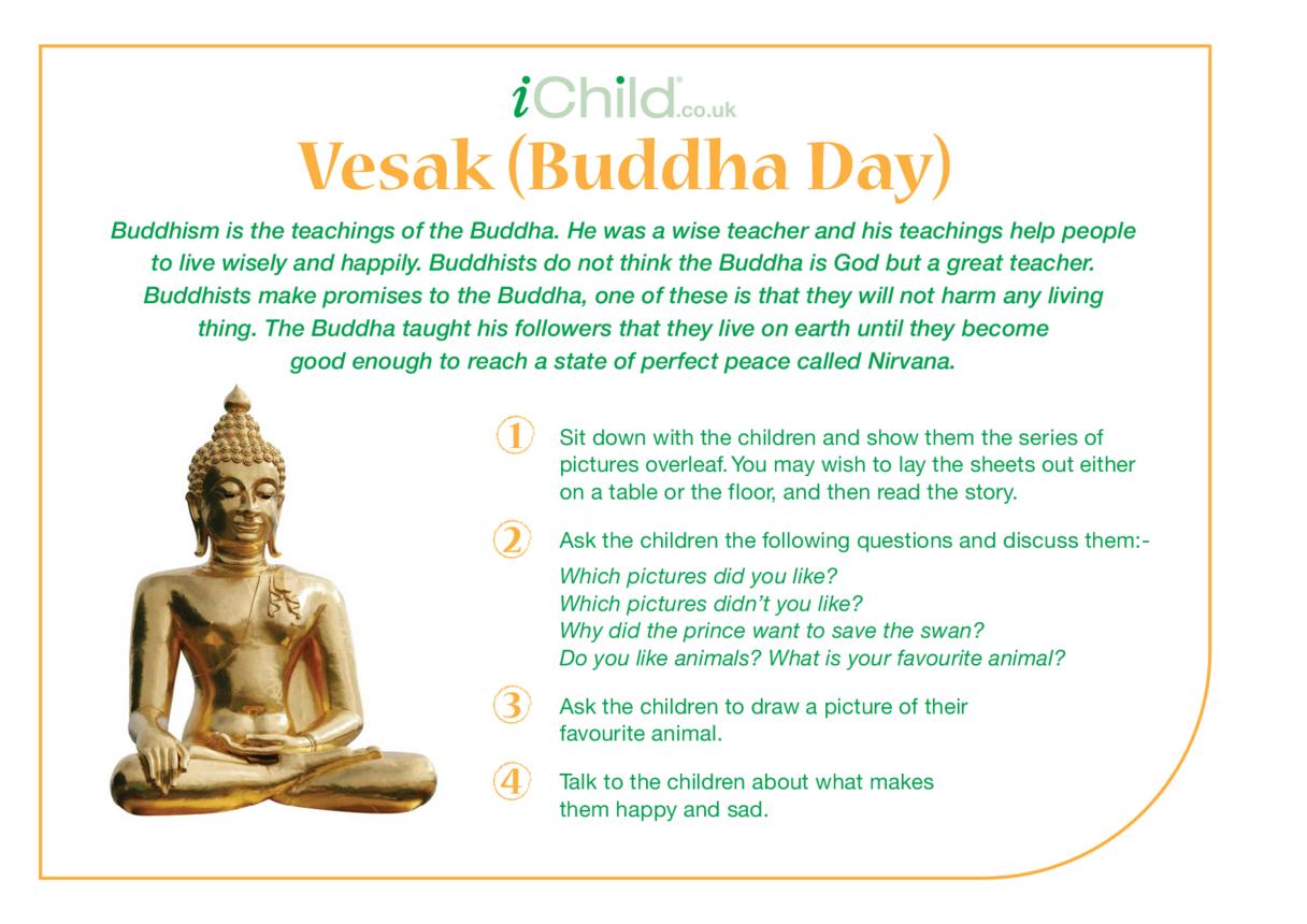 Vesak Religious Festival Story