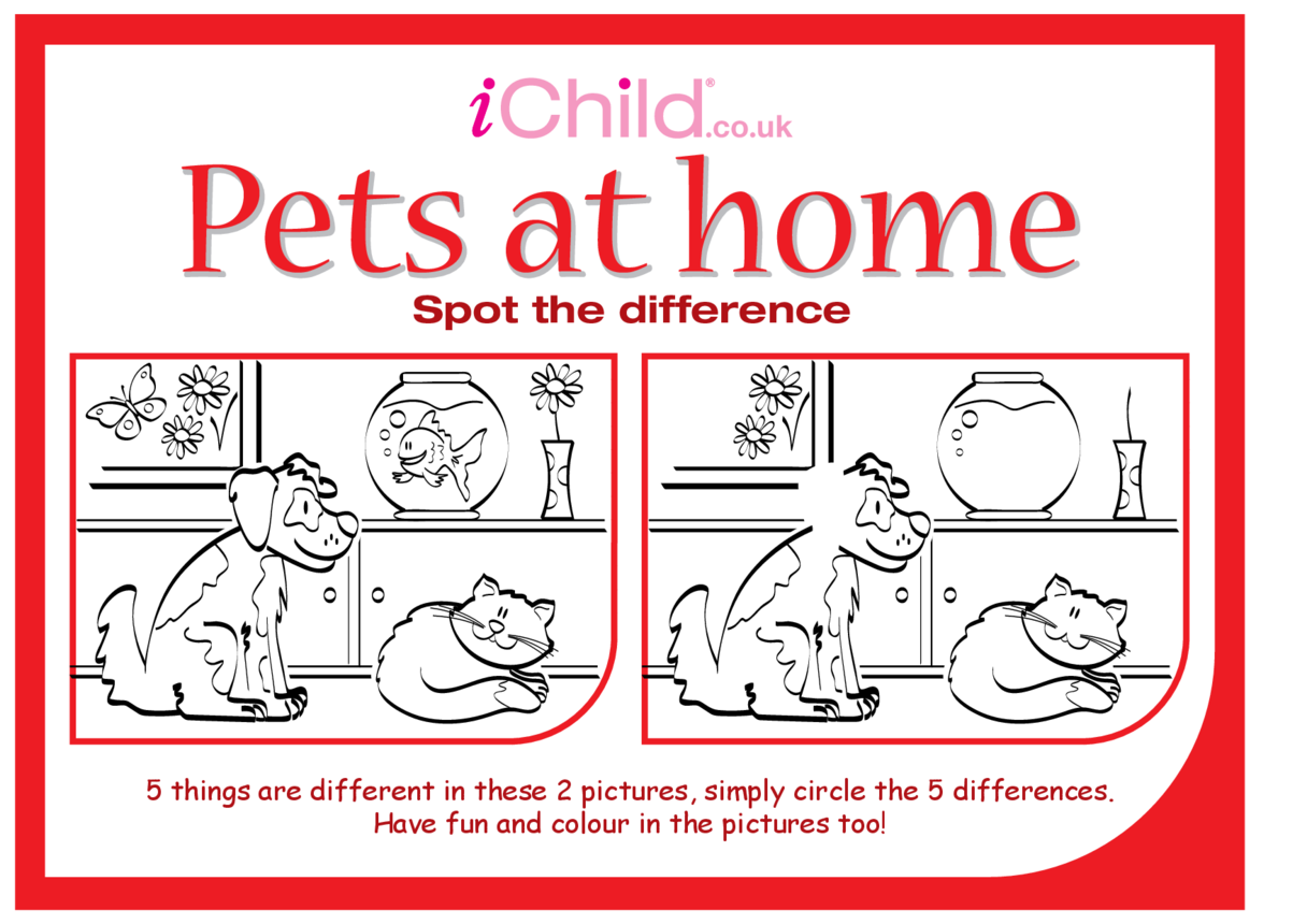 Spot the Difference - Pets