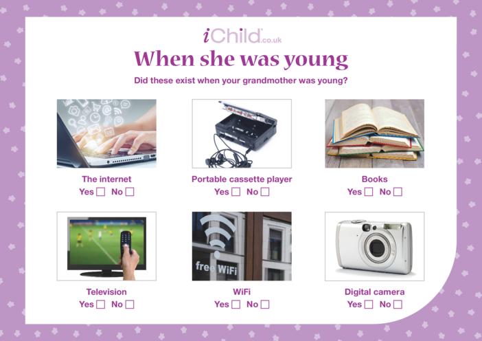 Thumbnail image for the When she was young activity.