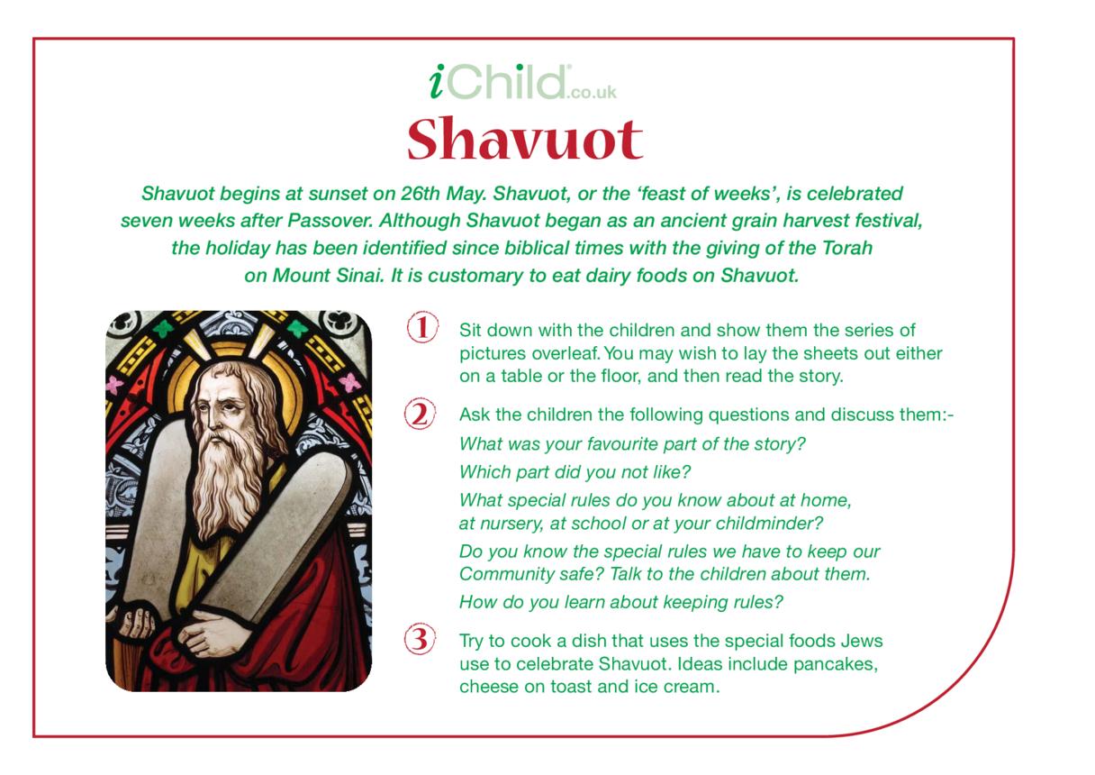 Shavuot Religious Festival Story