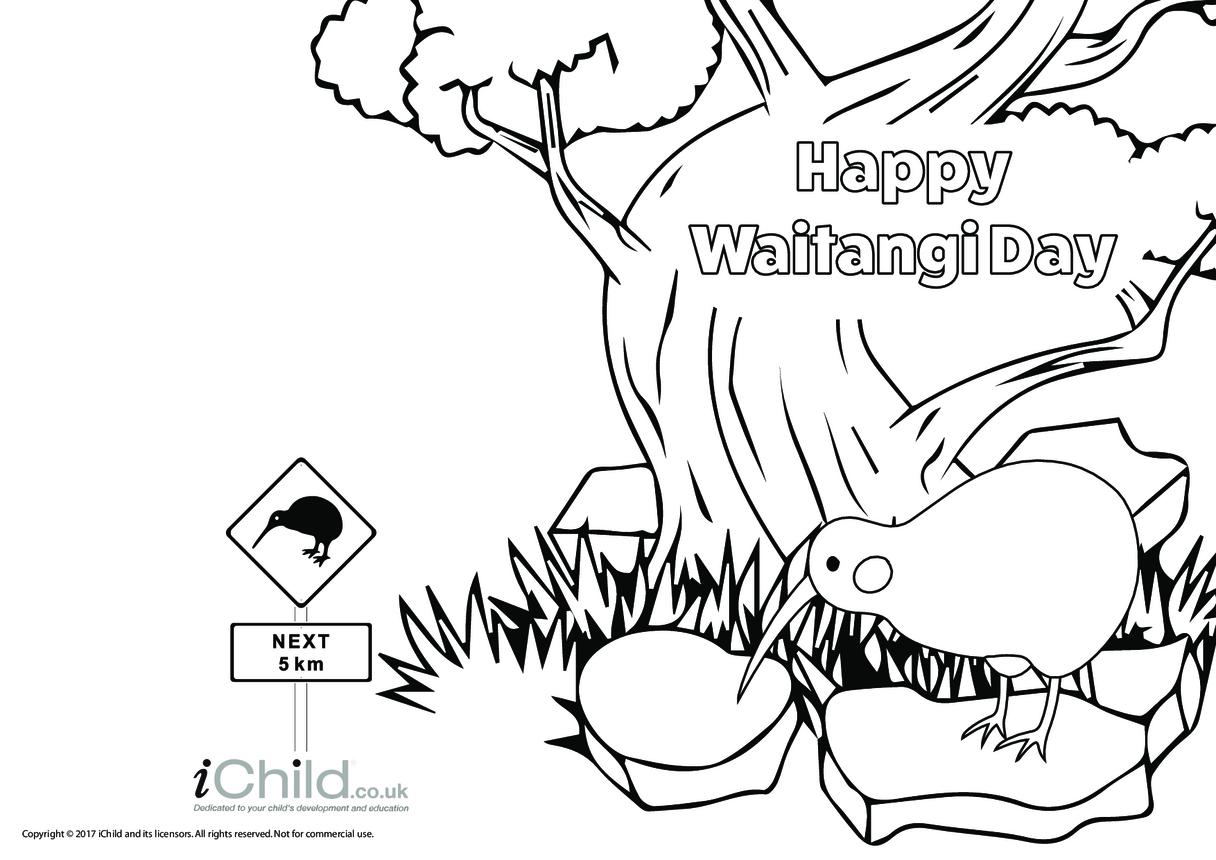 Happy Waitangi Day Card