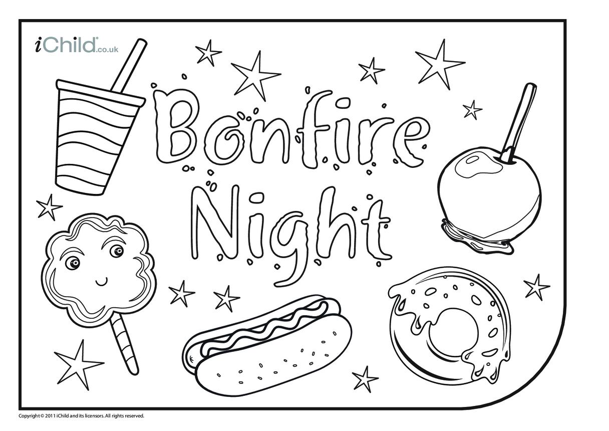 Bonfire Night Placemat