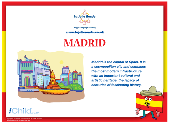 Thumbnail image for the Madrid activity.