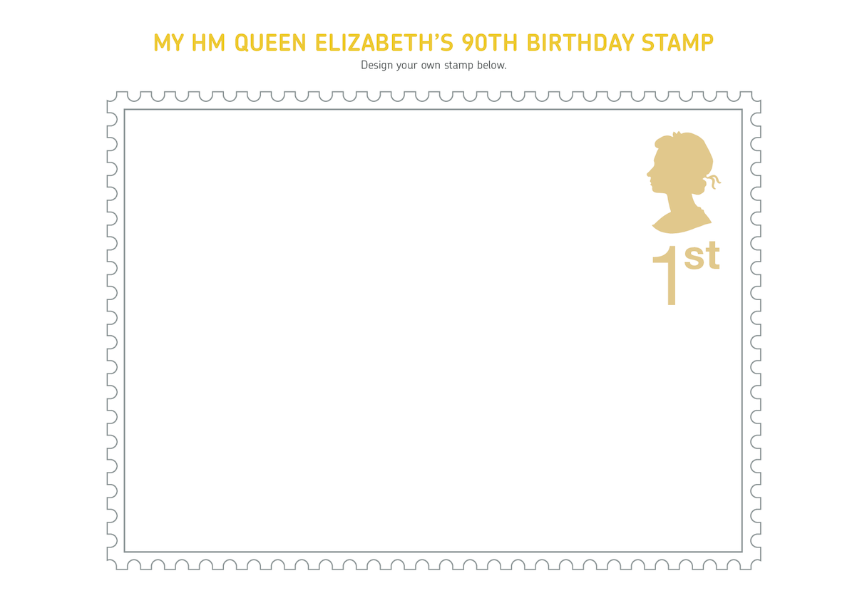 Royal Mail iStamp Club Queen Elizabeth Stamp Activtiy