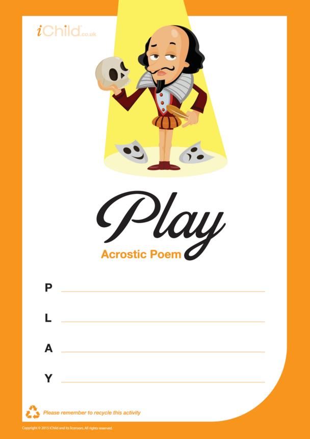 Play Acrostic Poem