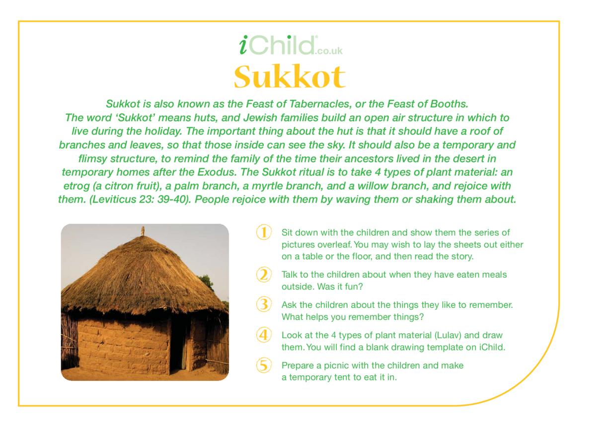 Sukkot Religious Festival Story