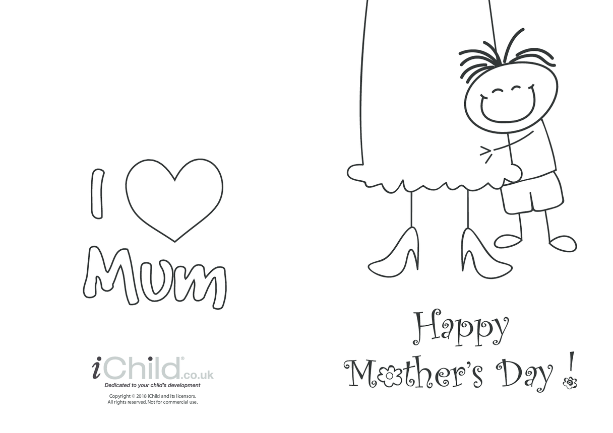 Mother's Day Card - Big Hug (picture 1)