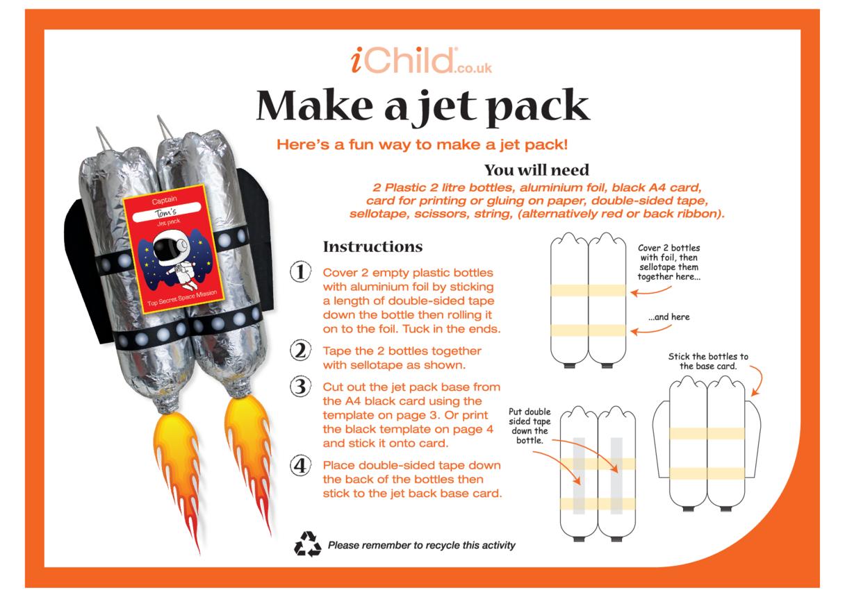 Make a Jet Pack Craft