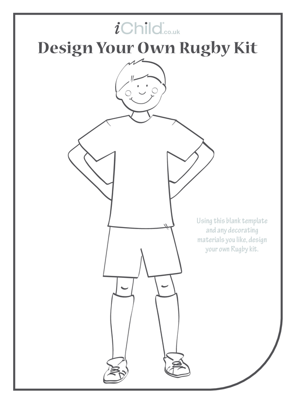 Design your own Rugby Kit: 2