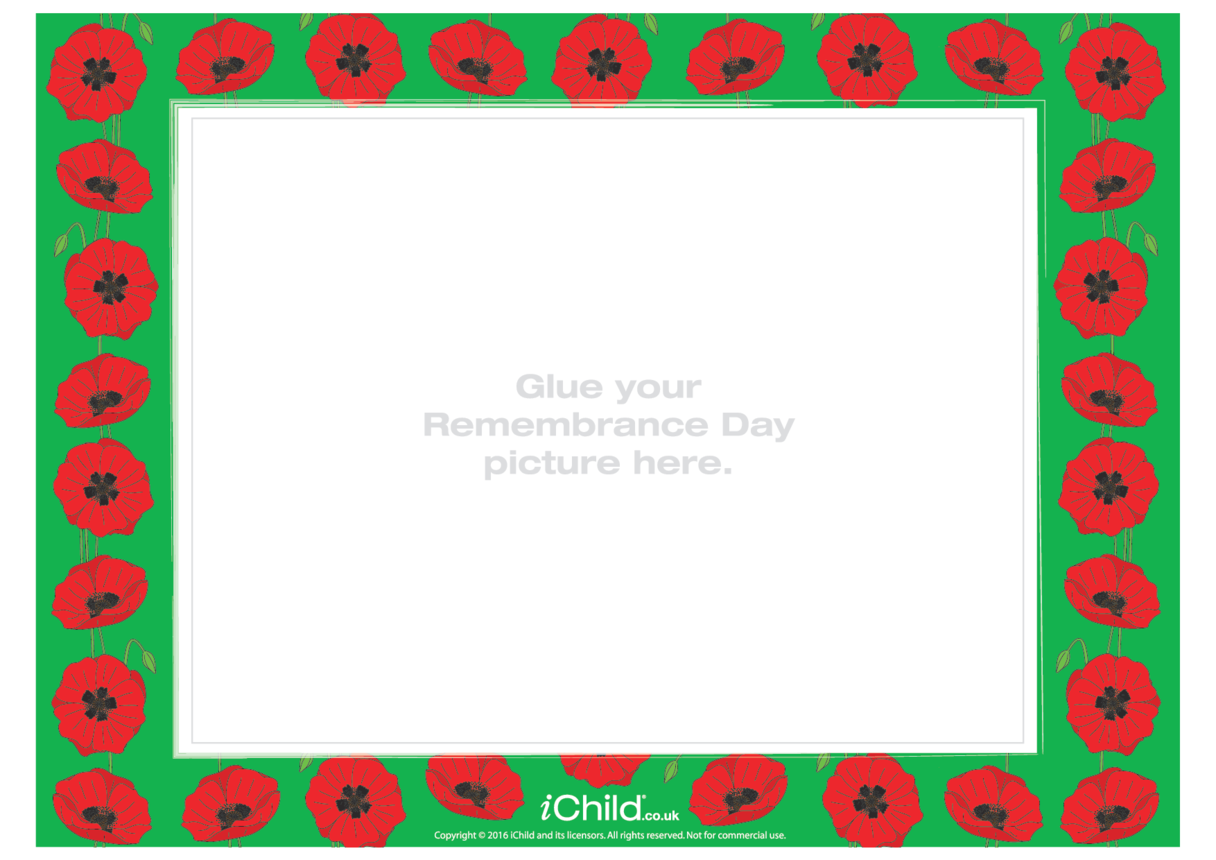 Remembrance Day Photo Frame