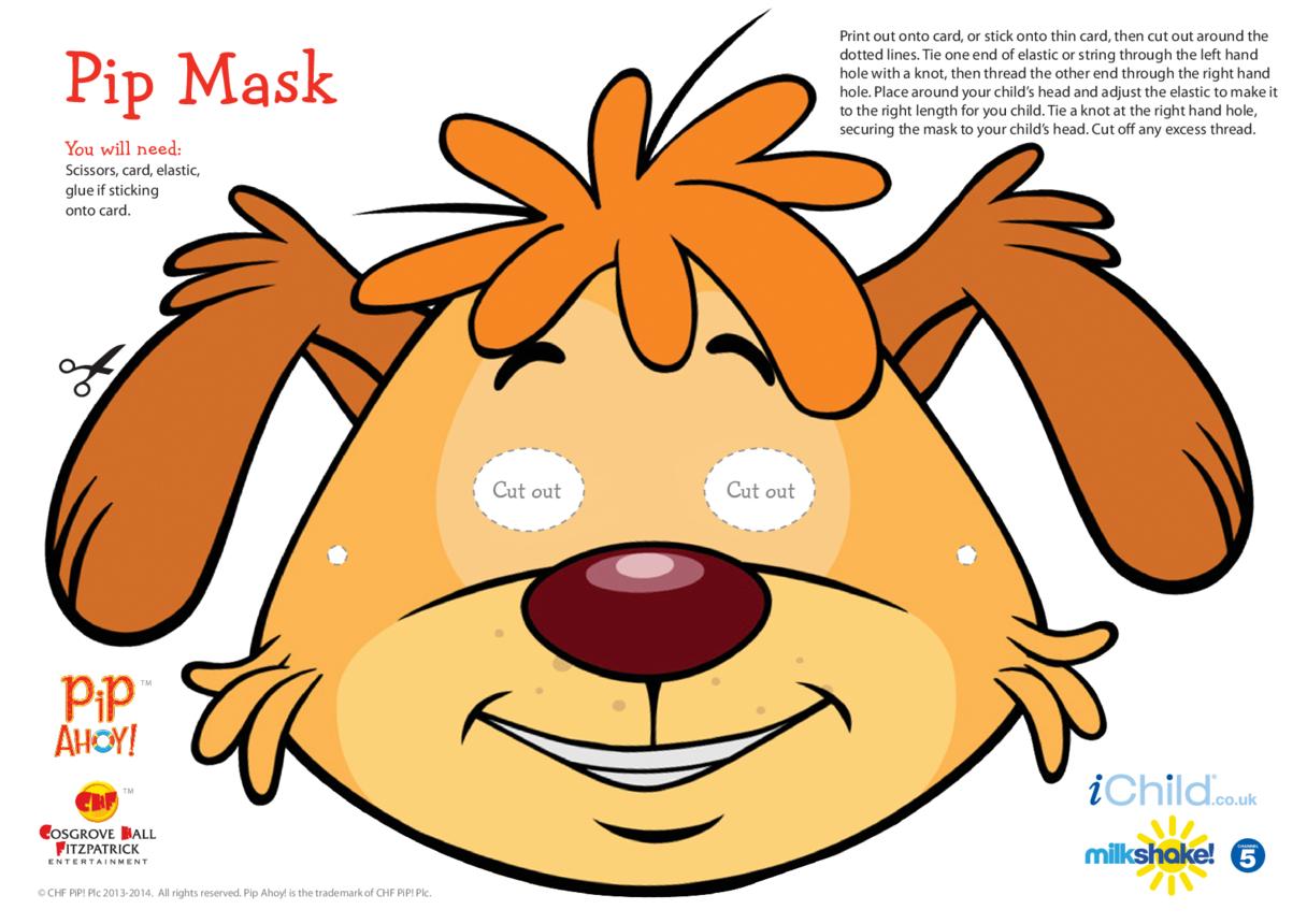 Pip Face Mask (Pip Ahoy!)