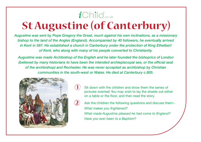 Thumbnail image for the St. Augustine Religious Festival Story activity.