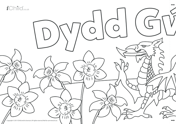 Thumbnail image for the Dydd Gwyl Dewi (Happy St. David's Day) Banner activity.
