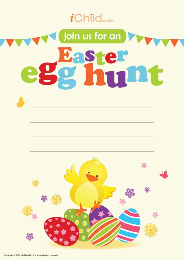 Easter Egg Hunt Invitation (No. 2)