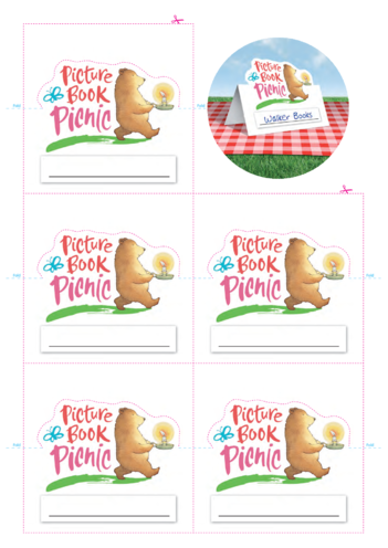 Thumbnail image for the Picture Book Picnic Place Name Cards activity.