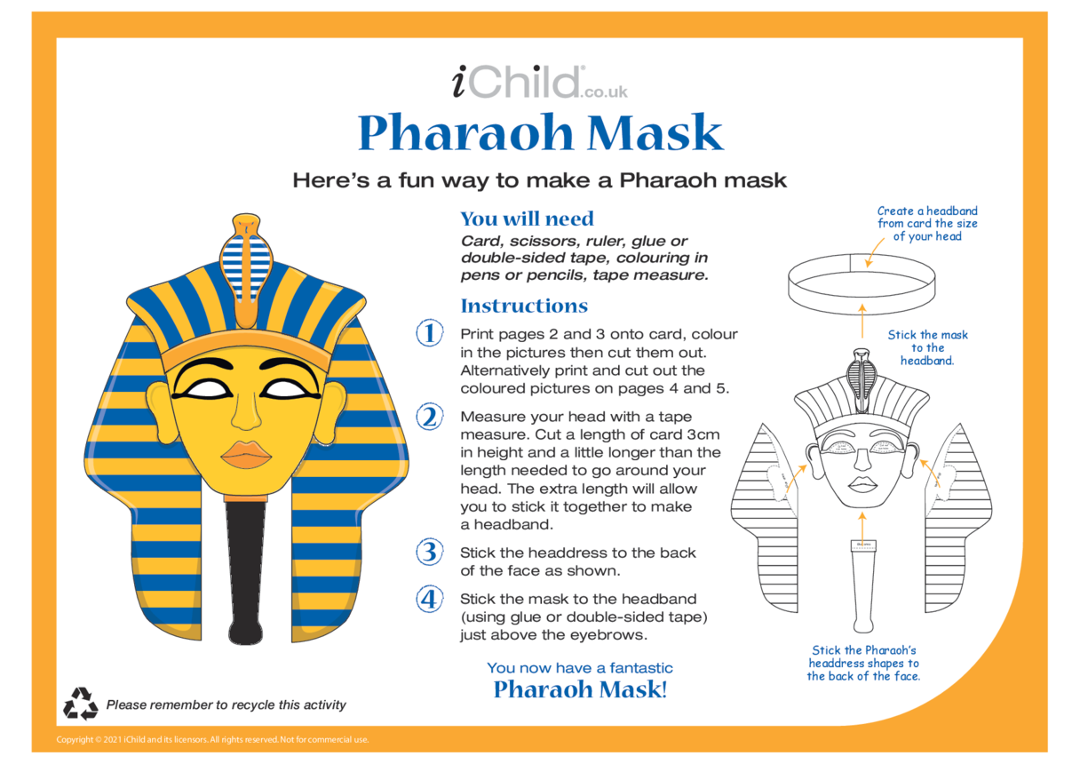 Make a Pharaoh Mask