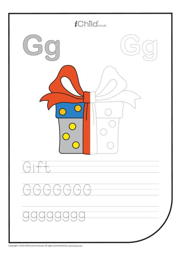G: Write the Letter G for Gift