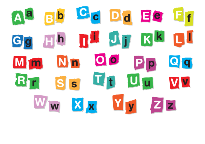 Thumbnail image for the Alphabet - Signs & Posters activity.