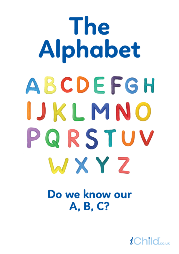 Alphabet: Upper case - Photo Poster
