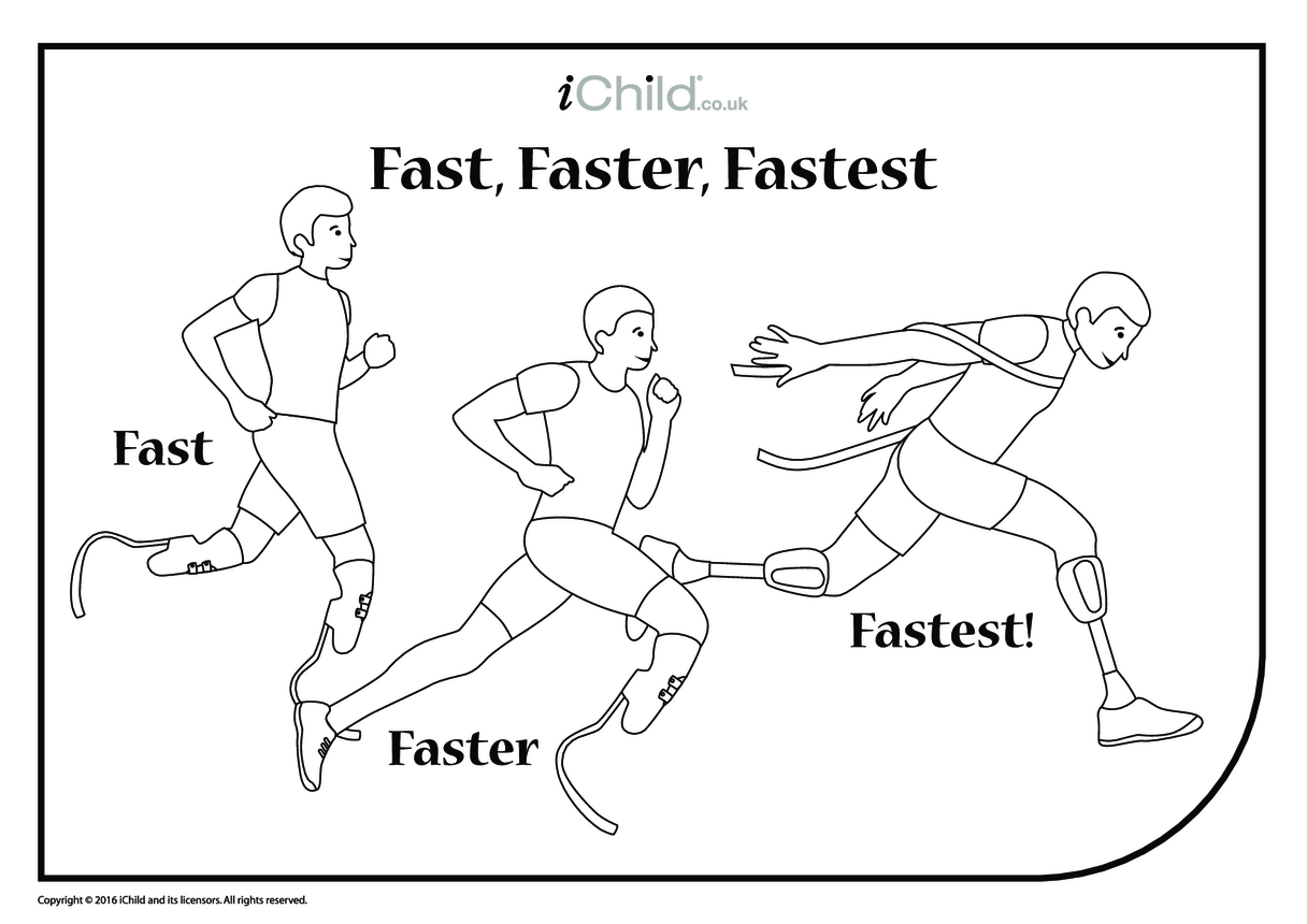Fast, Faster, Fastest Running Race
