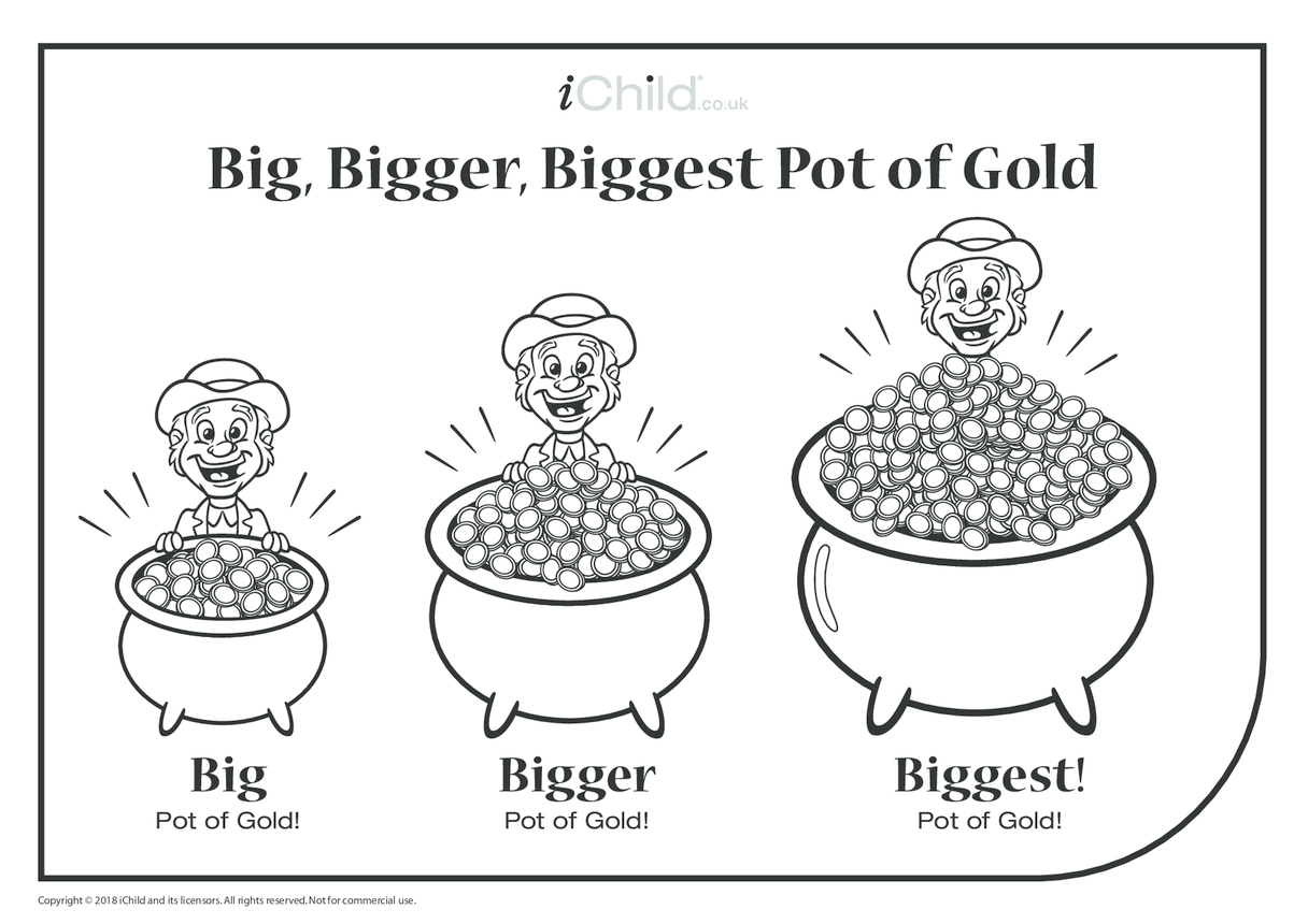 Big, Bigger, Biggest Pot of Gold