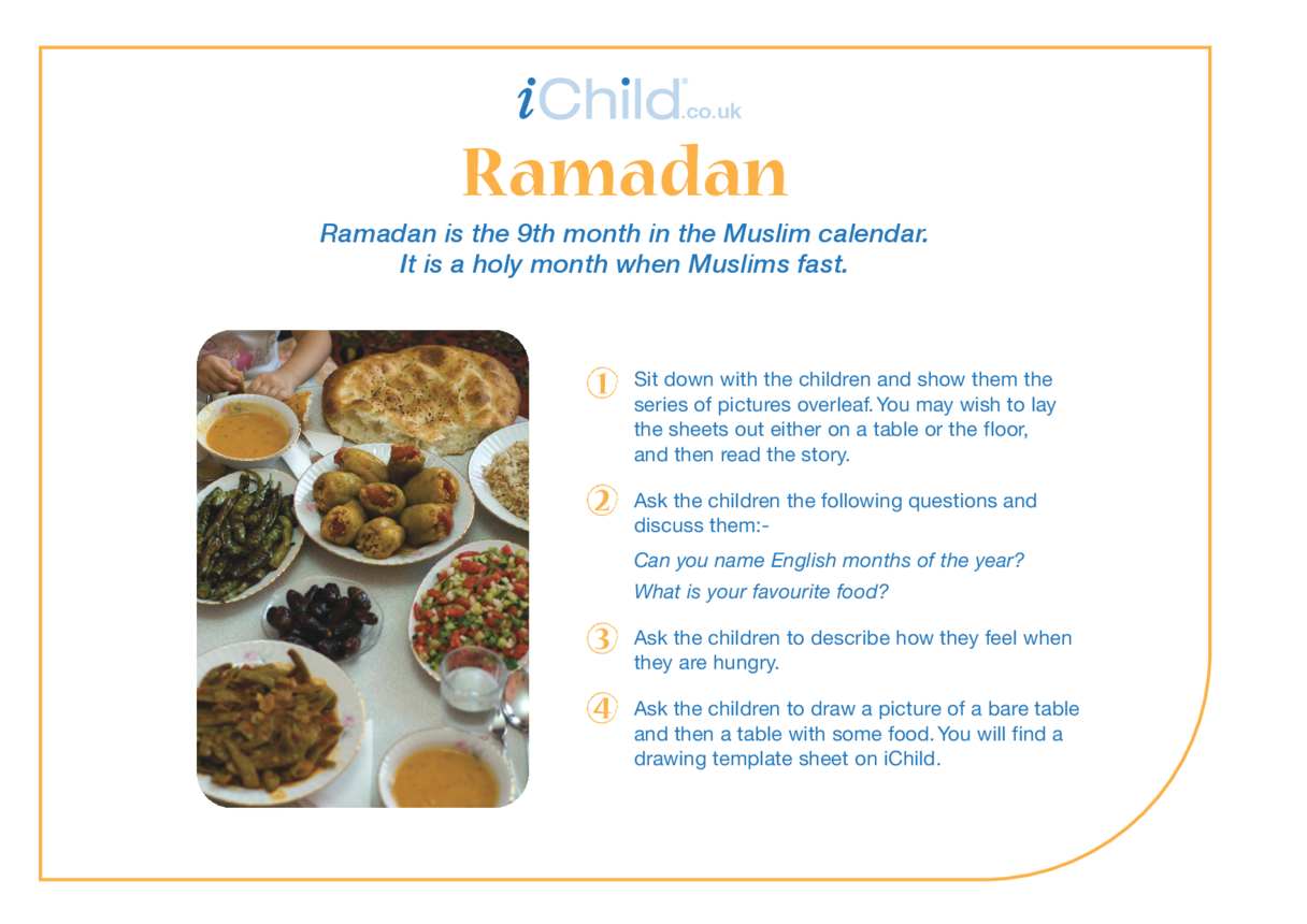 Ramadan Religious Festival Story
