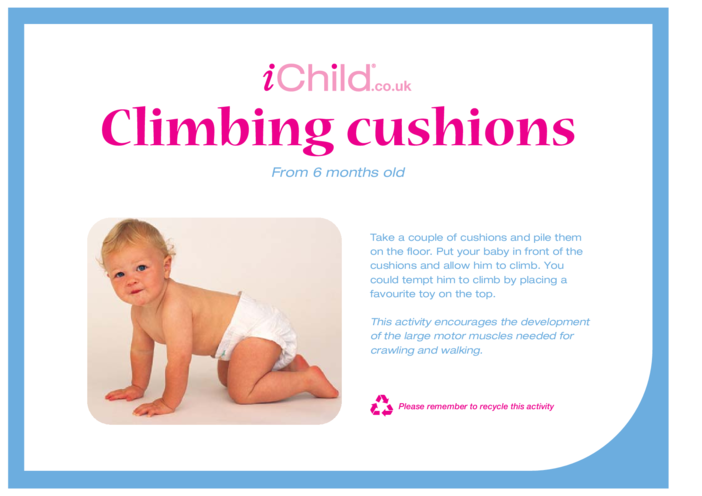 Thumbnail image for the Climbing Cushions activity.