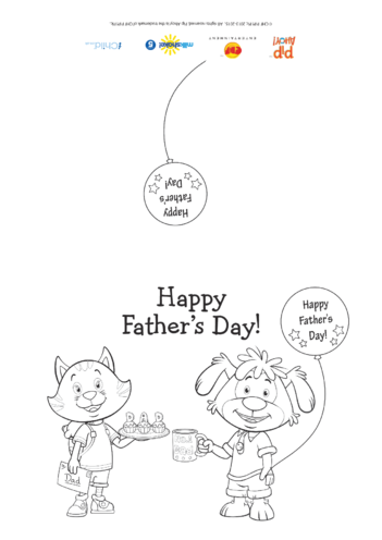 Thumbnail image for the Father's Day Card (Pip Ahoy!) activity.