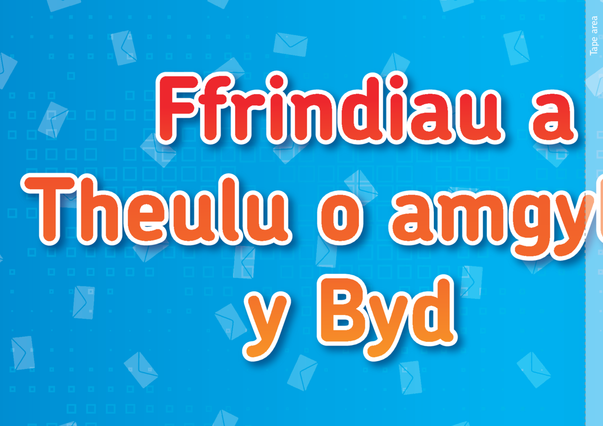 Welsh Translation - Lesson Plan 1: 'Friends and Family Around the World' Banner