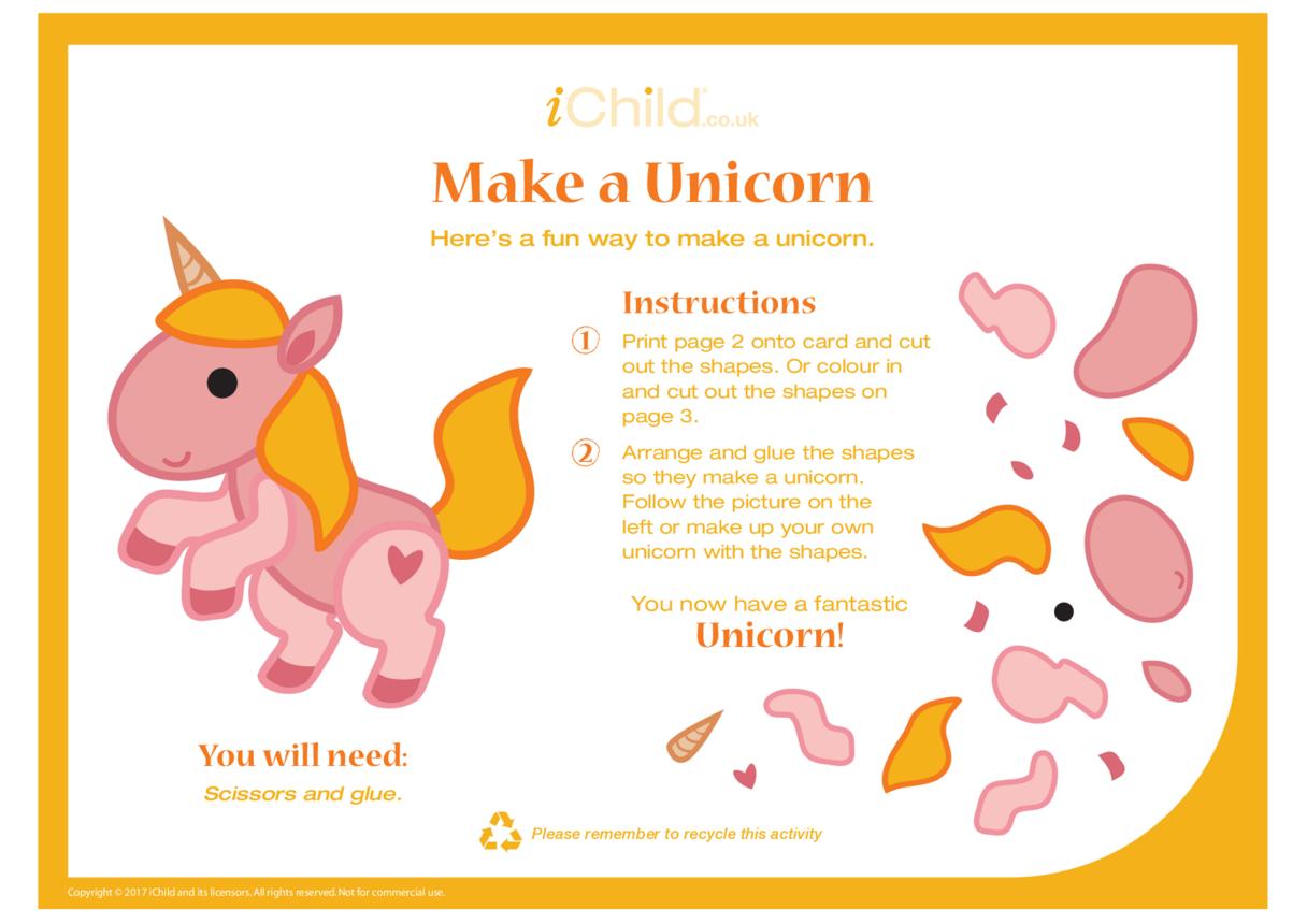 Make a Unicorn - Craft