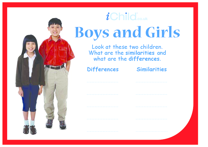 Thumbnail image for the Boys & Girls activity.