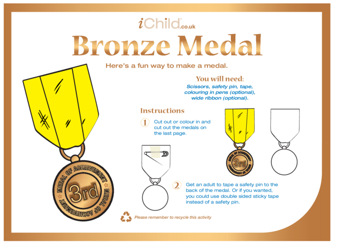 Thumbnail image for the Make a Bronze Medal activity.