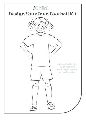 Thumbnail image for the Design a Football Kit- Girl activity.