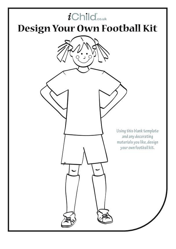 Design a Football Kit- Girl