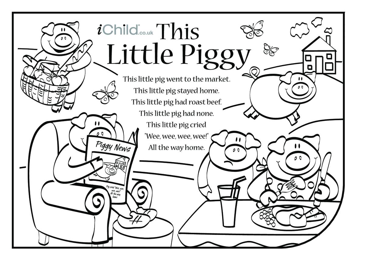 This Little Piggy Lyrics