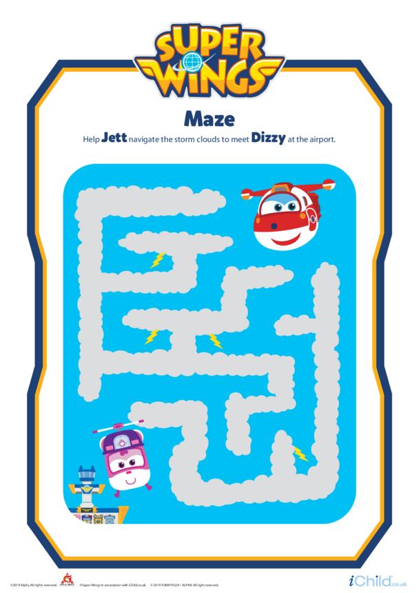 Super Wings: Maze
