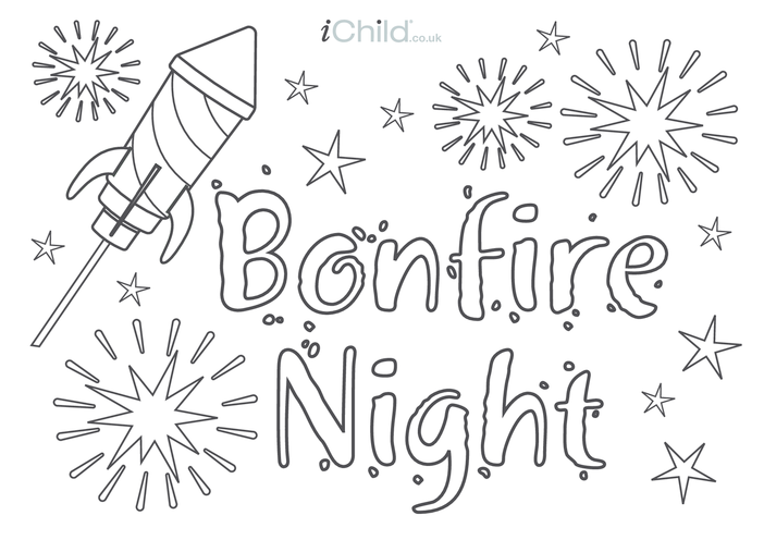 Thumbnail image for the Bonfire Night Poster activity.