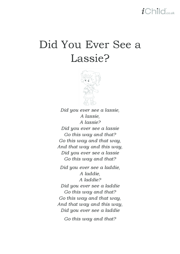 Did You Ever See a Lassie Lyrics