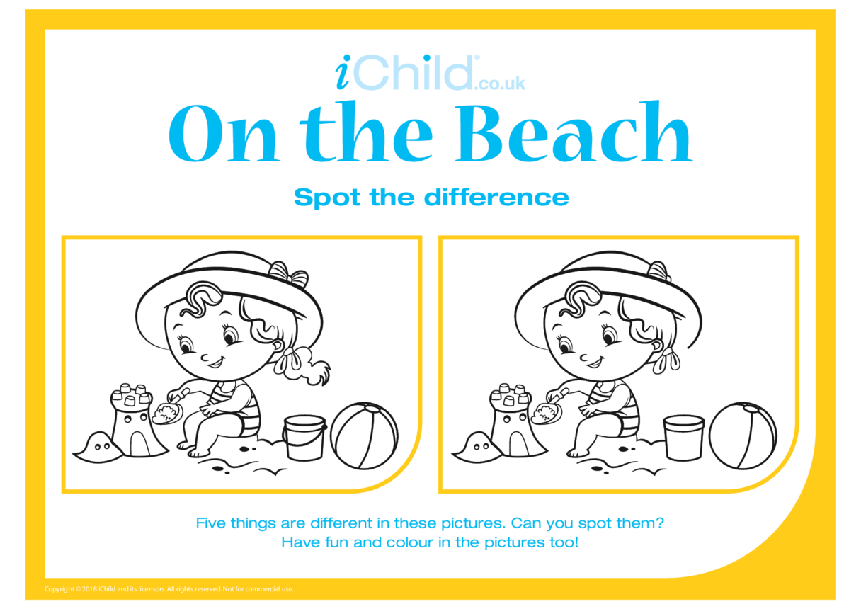 Spot the Difference: On the Beach