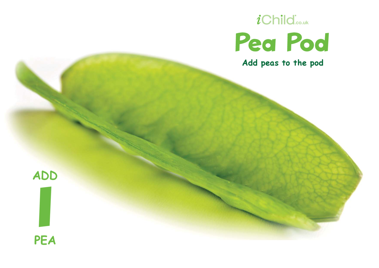Play Dough Counting Mats: Peas & Pea Pod