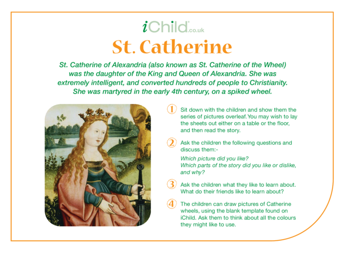 Thumbnail image for the St. Catherine Religious Festival Story activity.