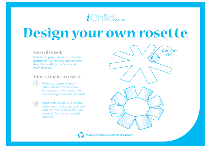 Thumbnail image for the Design your own Rosette activity.