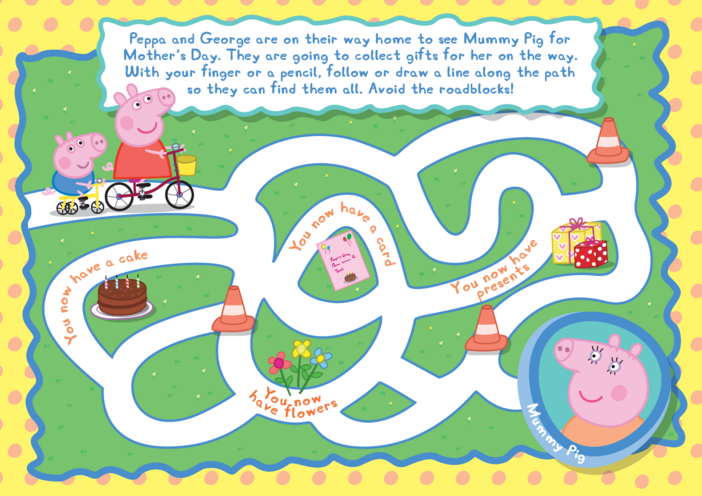 Thumbnail image for the Peppa Pig Puzzle activity.