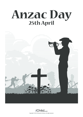 Thumbnail image for the Anzac Day Poster activity.