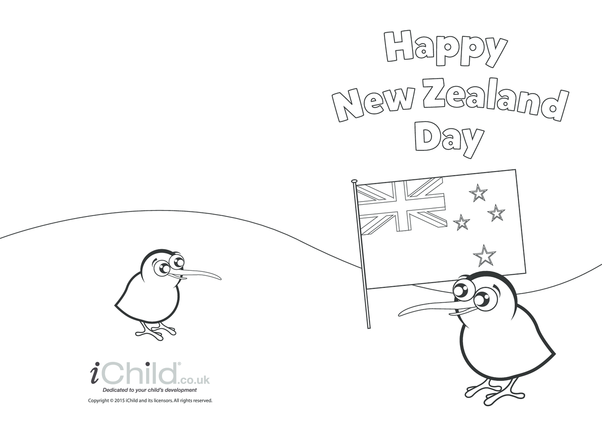 New Zealand Day Greeting Card