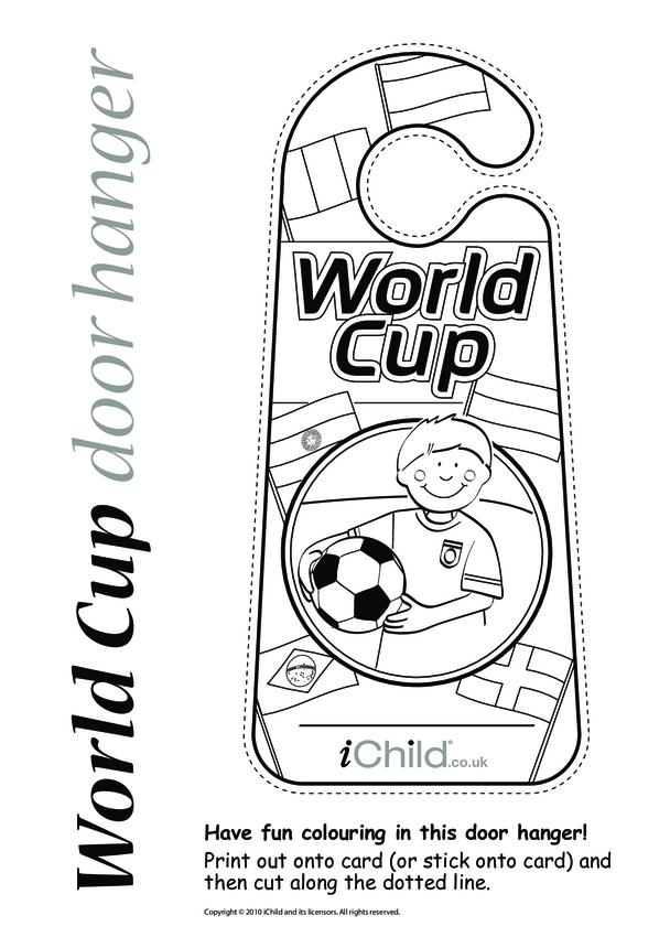 World Cup Door Hanger