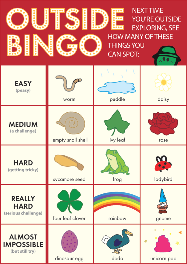 innocent - Outside Bingo