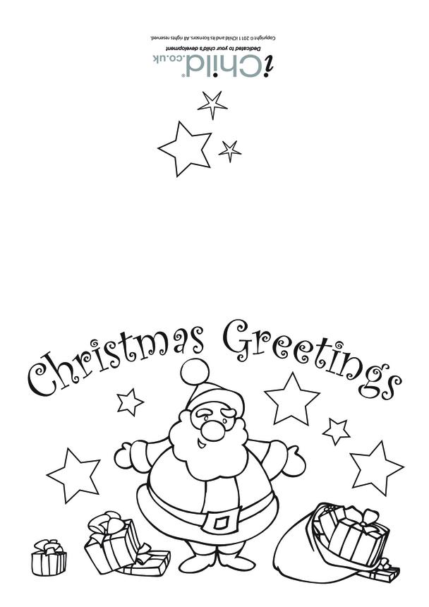 Christmas Card- Santa